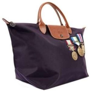 LIMITED EDITION-Longchamp x Jeremy Scott Colonel
